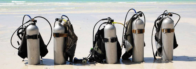 bombole diving